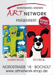 ART NETWORK James Rizzi Ed Heck 213x300 - Der Kunsthandel Koenen ART NETWORK präsentiert: James Rizzi und Ed Heck - Bocholt - Nordstr. 18 -  29.04. und 06.05.2018