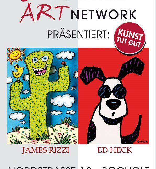 ART NETWORK James Rizzi Ed Heck 595x642 - Der Kunsthandel Koenen ART NETWORK präsentiert: James Rizzi und Ed Heck - Bocholt - Nordstr. 18 -  29.04. und 06.05.2018