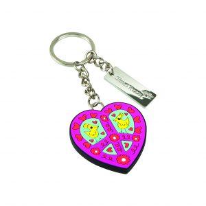 26100842 Schlüsselanhänger Herz groß 1 300x300 - POP ART goes Porzellan - mit Goebel
