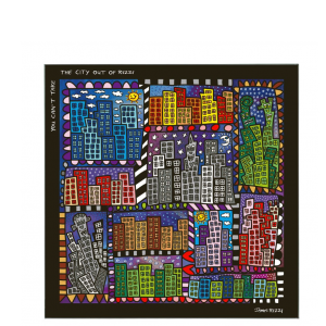 26101621 You cant take the city out of Rizzi Magnettafel 300x300 - POP ART goes Porzellan - mit Goebel