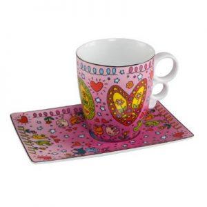 26101871 James Rizzi Peace of love 300x300 - POP ART goes Porzellan - mit Goebel
