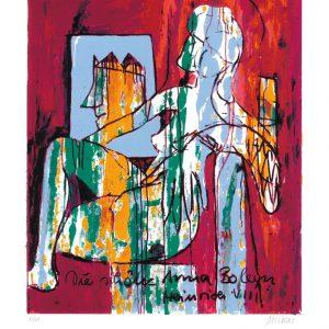 """Anna Boleyn 65x50 roem.klein  300x300 - Armin Mueller-Stahl - Mappe """"Shakespeares Mädchen und Frauen"""""""