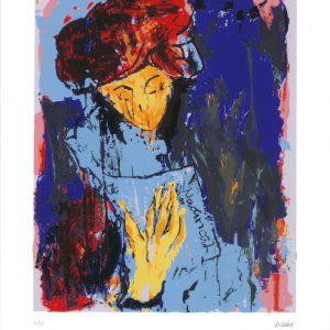 """Julia 65x50 roem.klein  300x300 - Armin Mueller-Stahl - Mappe """"Shakespeares Mädchen und Frauen"""""""