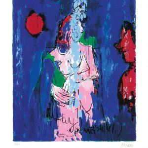 """Lady Gray 65x50 roem.klein  300x300 - Armin Mueller-Stahl - Mappe """"Shakespeares Mädchen und Frauen"""""""