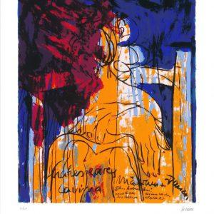 """Lavinia 65x50 roem.klein  300x300 - Armin Mueller-Stahl - Mappe """"Shakespeares Mädchen und Frauen"""""""