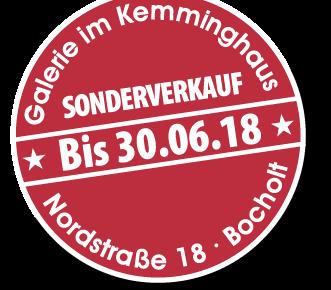 "Button Kemminghaus 30.06.2018 331x290 - Verlängerung bis 30.06.2018 ""Galerie im Kemminghaus"" Bocholt"