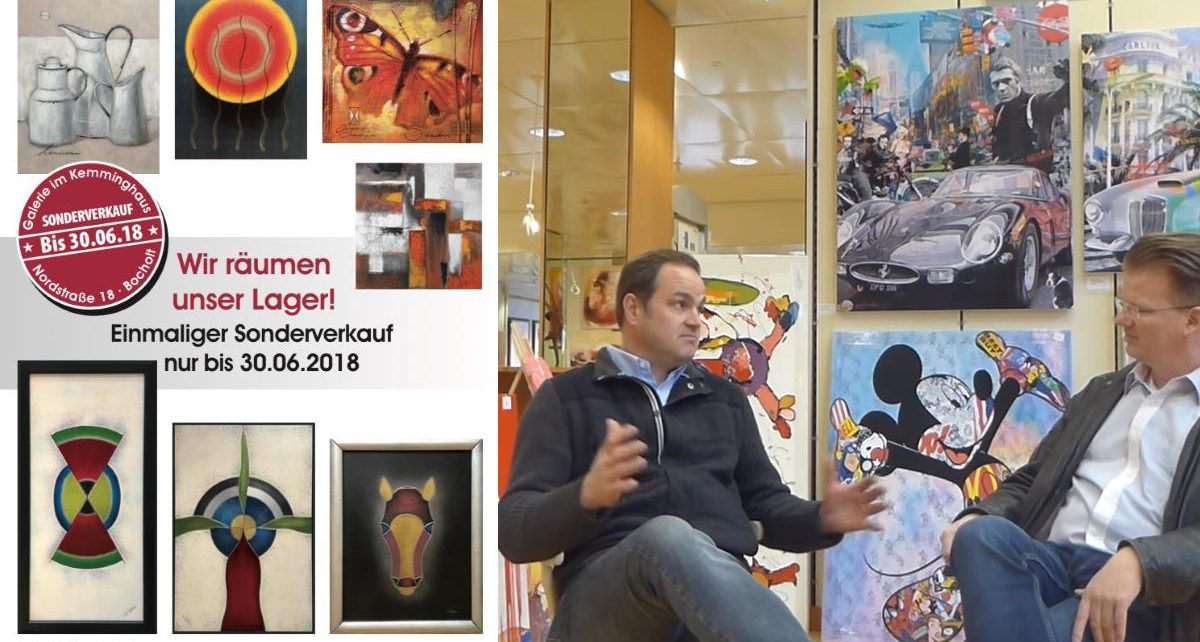KemmingHaus Sonderverkauf Bocholt Nordtsrasse ART Network Peter Koenen 1200x642 - Das Jubiläums Interview ...im Kemminghaus / Einmaliger Sonderverkauf bis 30.6.2018
