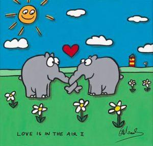 Otto Waalkes Love is in the Air II 40x40cm 300x286 - Was gibt es Neues im ART NETWORK Online-Shop ?
