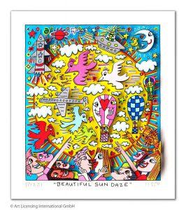 RIZZI10274 James Rizzi beautiful sun daze 266x300 - Was gibt es Neues im ART NETWORK Online-Shop ?