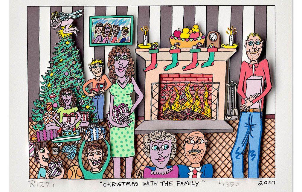 2007 Rizzi10052 christmas with the family 1010x642 - Alle Jahre wieder - Weihnachten im ART NETWORK Shop