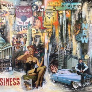 Claus Schenk Business City New York 300x300 - Claus Schenk - PERSPEKTIVEN - Ausstellung 26.10. - 15.12.2018 - - verlängert bis 12.01.2019