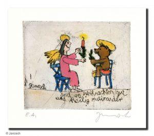 JA00740 Janosch Seid an Weihnachten gut und heilig zueinander 300x266 - Alle Jahre wieder - Weihnachten im ART NETWORK Shop
