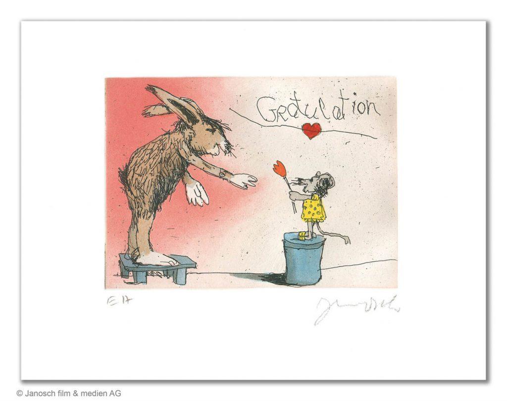 JA01795 Janosch Gratulation du lieber Hase 1024x811 - Janosch