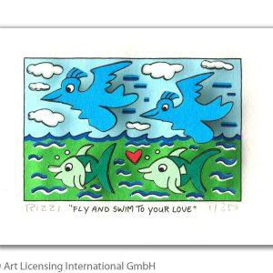 RIZZI10280   James Rizzi   Fly and swim to your love 300x300 - Die neue JamesRizziKollektion im ART NETWORK Online Shop