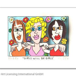 RIZZI10281   James Rizzi  Girls will be girls 300x300 - Die neue JamesRizziKollektion im ART NETWORK Online Shop