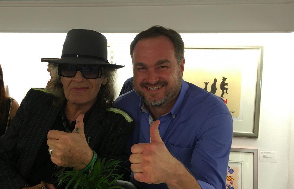 Peter Koenen trifft Udo Lindenberg ART Network 2018 1024x659 - Udo Lindenberg - coole neue Werke