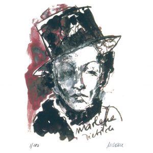 Marlene Dietrich.klein  300x300 - Der Jahresrückblick 2018 im Kunsthandel Koenen ART NETWORK