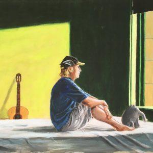 Otto Waalkes Sitting in the Morning Sun 300x300 - Der Jahresrückblick 2018 im Kunsthandel Koenen ART NETWORK