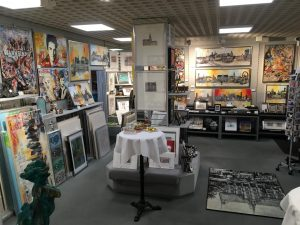 Peter Koenen trifft Claus Schenk ART Network 2018 Ausstellung 300x225 - Peter Koenen trifft: Claus Schenk