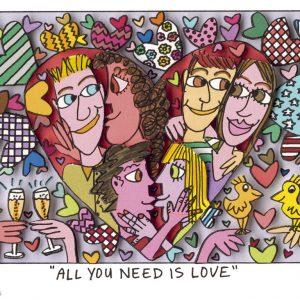 2005 Rizzi10015 All you need is love 300x300 - Sag es durch... Kunst - Valentinstag im Kunsthandel Koenen ART NETWORK