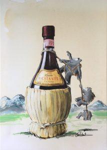 Otto Waalkes Chianti 214x300 - Neue Werke vonOtto Waalkes