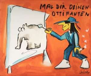 Otto Waalkes Mal Dir Deinen Ottifanten 300x251 - UnserJahresrückblick 2019