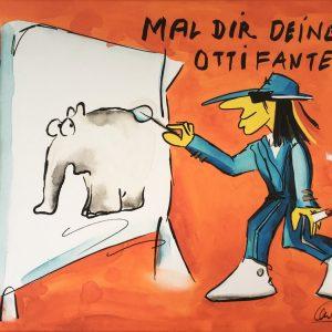 Otto Waalkes Mal Dir Deinen Ottifanten 300x300 - Peter Koenen trifft: Otto Waalkes
