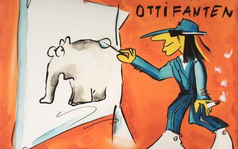 Otto Waalkes Mal Dir Deinen Ottifanten 464x290 - Neue Werke vonOtto Waalkes