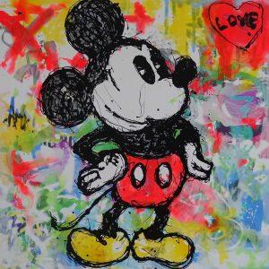 Paul Thierry   Micky Love 90x90 und 50x50 300x300 - Sag es durch... Kunst - Valentinstag im Kunsthandel Koenen ART NETWORK