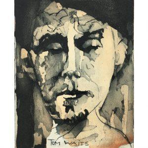 Tom Waits signiert 300x300 - Neue Werke vonArmin Mueller-Stahl