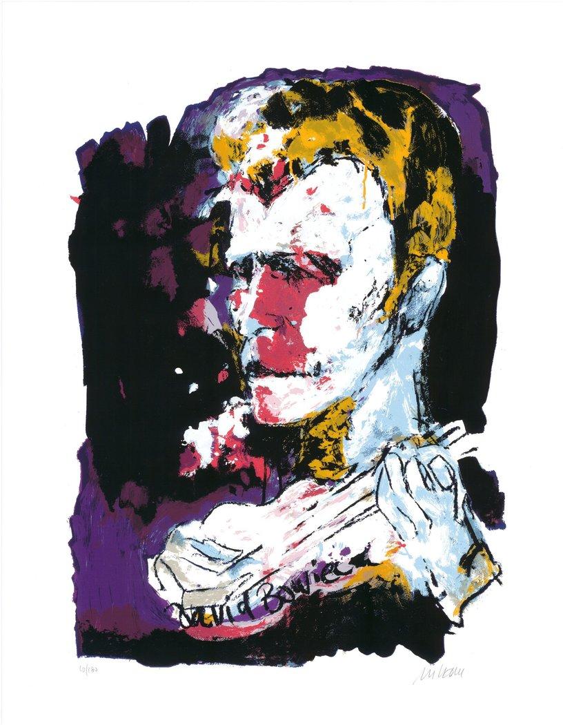 Armin Mueller Stahl David Bowie - Armin Mueller-Stahl