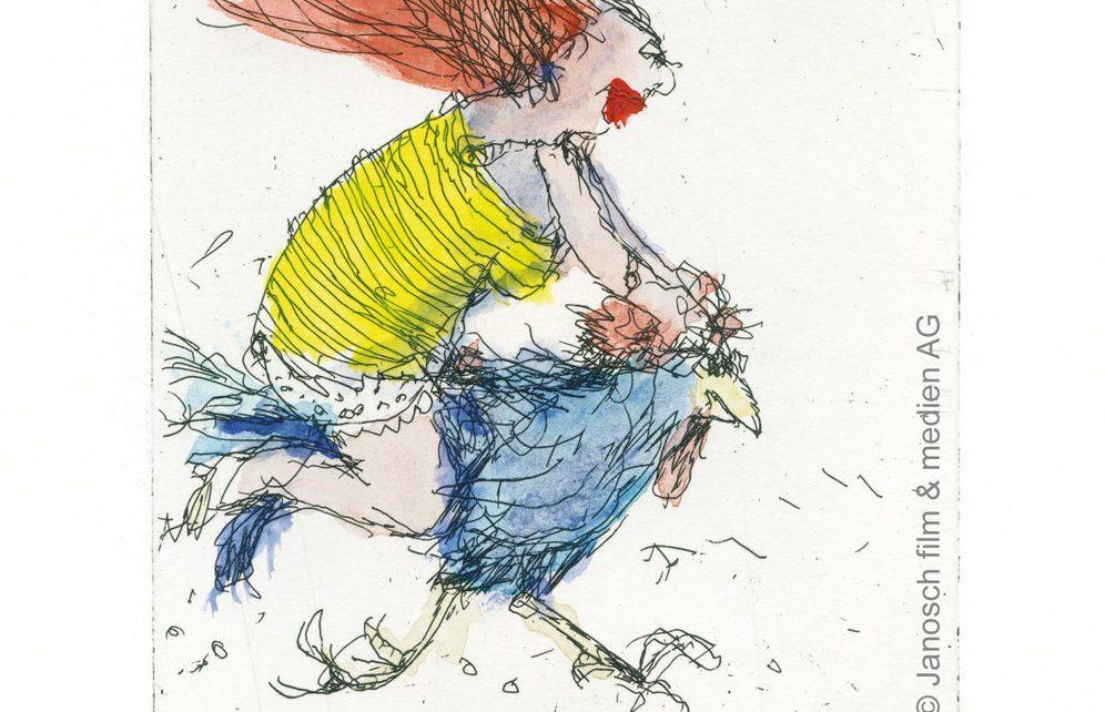 JA01680 Janosch Der Hahn ist mein Mann und ich heisse Luise 996x642 - Janosch- Tigern Sie mal rüber, es warten nicht nur Enten!