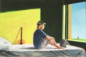 Otto Waalkes Sitting in the Morning Sun 300x198 - ART NETWORK im Kunstsalon Herrenhausen