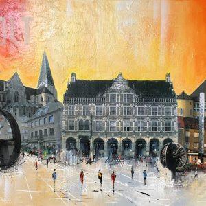 2018.09   Claus Schenk   Bocholt   100 x 50 cm   1.1 300x300 - Bocholt - hier schlagen (nicht nur unsere) Herzen für die Kunst