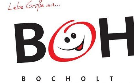 Bocholt Postkarte. Motiv 1. BOH. Vorderseite 464x290 - Bocholt - hier schlagen (nicht nur unsere) Herzen für die Kunst