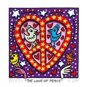 RIZZI10287 James Rizzi The love of peace 300x300 - Neues von JamesRizzi- Minis, Hochformate und Meer