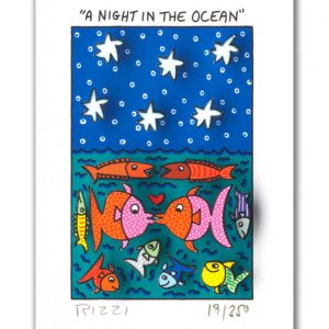 RIZZI10288 James Rizzi A Night in the ocean 300x300 - Neues von JamesRizzi- Minis, Hochformate und Meer