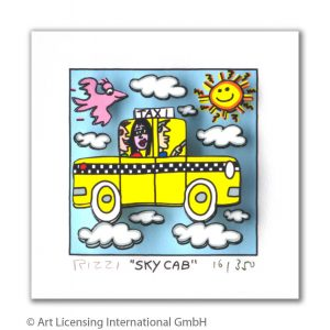 RIZZI10292 James Rizzi Sky Cab 300x300 - Neues von JamesRizzi- Minis, Hochformate und Meer