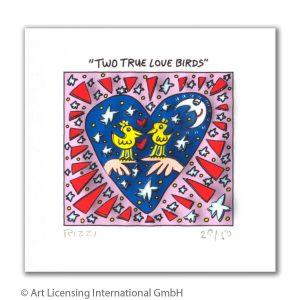 RIZZI10293 James Rizzi Two true love birds 300x300 - Neues von JamesRizzi- Minis, Hochformate und Meer