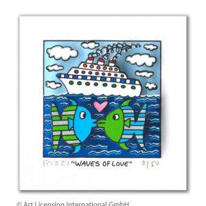 RIZZI10294 James Rizzi Waves of love 300x300 - Neues von JamesRizzi- Minis, Hochformate und Meer