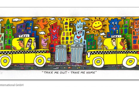 RIZZI10302 James Rizzi Take me out take me home 464x290 - Neues von James Rizzi - Minis, Hochformate und Meer