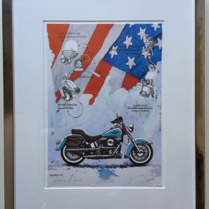 Dieter Portugall Harley Davidson 300x300 - Neu im ART NETWORK SHOP:Dieter Portugall