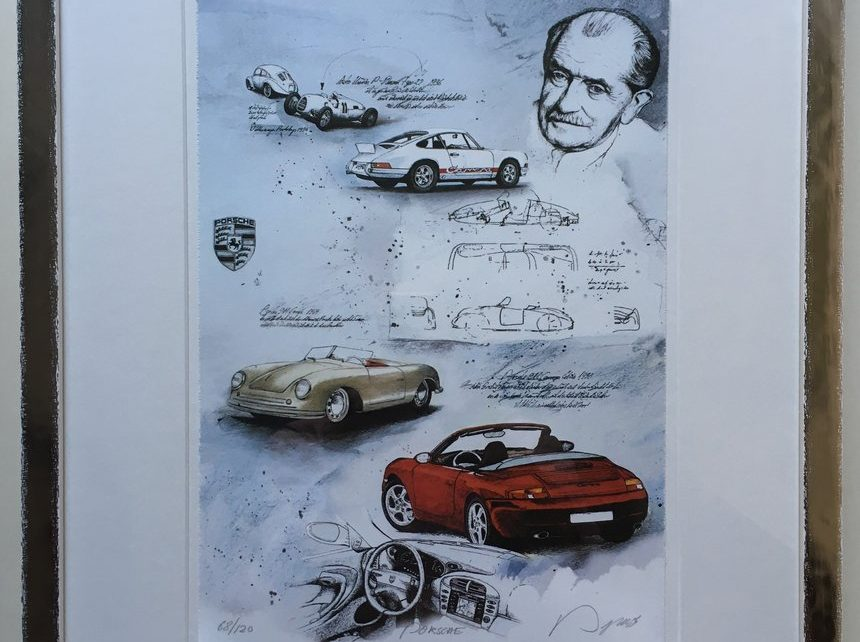 Dieter Portugall Porsche 860x642 - Neu im ART NETWORK SHOP:Dieter Portugall