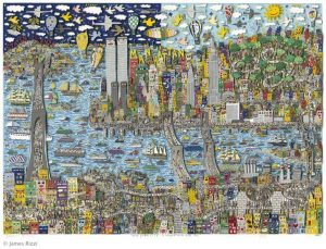 James Rizzi. New York City   a marathon for all. Foto 300x229 - New York - eine Stadt voller künstlerischer Inspiration