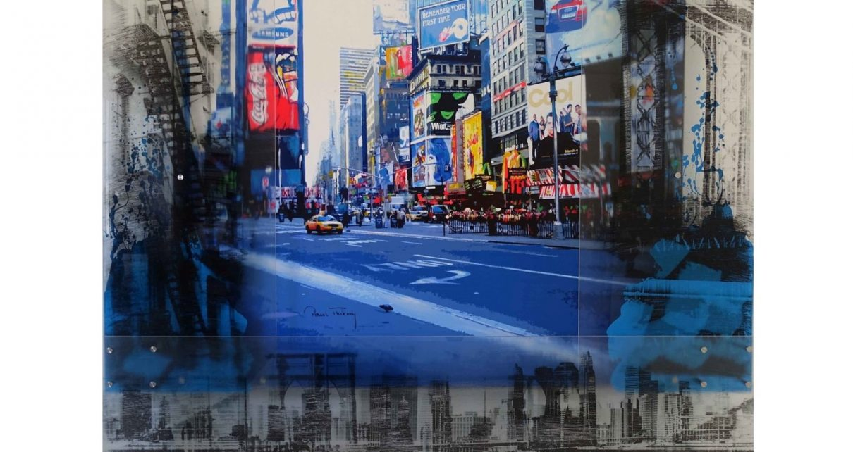 Paul Thierry   Unikat 2018   New York   Times Square 150 x 121 x 125 1210x642 - New York - eine Stadt voller künstlerischer Inspiration