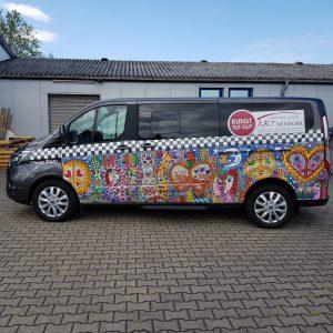 Das Kunst tut gut Mobil  ART Network Bocholt 300x300 - Wenn die Kunst bei Ihnen vorfährt - mit dem KUNST TUT GUT Mobil!