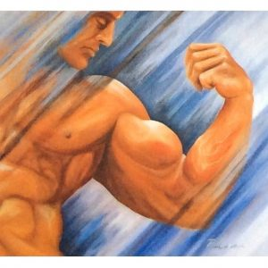 Body Builderca.61x551988 300x300 - Klaus Risse- NEU im Kunsthandel Koenen ART NETWORK