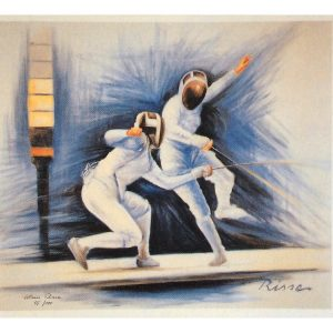 Das Duellca.63x551988 300x300 - Klaus Risse- NEU im Kunsthandel Koenen ART NETWORK