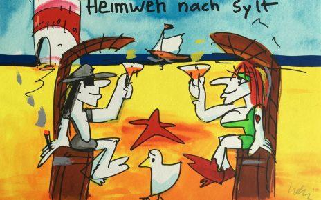 Grafik Udo Lindenberg Heimweh nach 56x42cm 2019 464x290 - Neues von Udo Lindenberg im Kunsthandel Koenen ART NETWORK