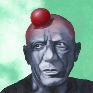 Klaus Risse Cesar or Clown Picasso 300x300 - Klaus Risse- NEU im Kunsthandel Koenen ART NETWORK